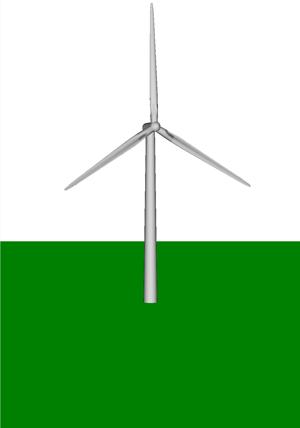 NREL WindPACT 1 5-MW Wind Turbine -